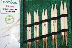 Knit Pro Bamboo Chunky Set