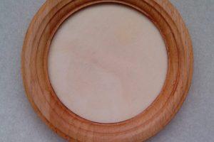 резная круглая деревянная рамка для вышивки